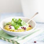 vegan red and yellow lentil dal recipe | www.curatedlifestudio.com